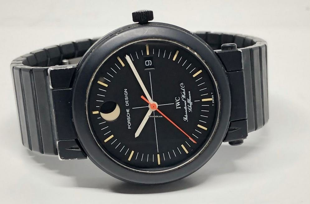 IWC Schaffhausen Porsche Design Compass Watch