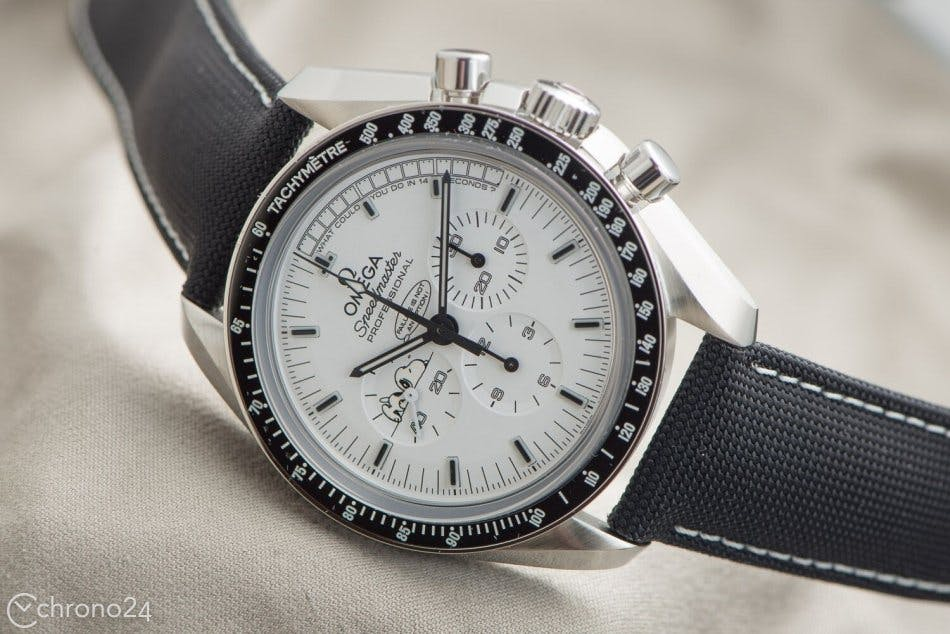 Omega Speedmaster Professional Silver Snoopy Limited Edition