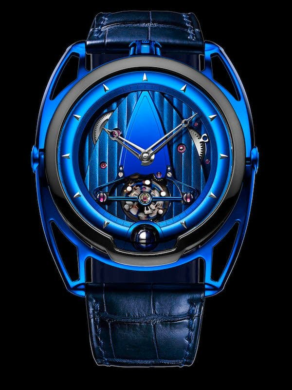 De Bethune DB 28 'Kind of Blue' Tourbillon