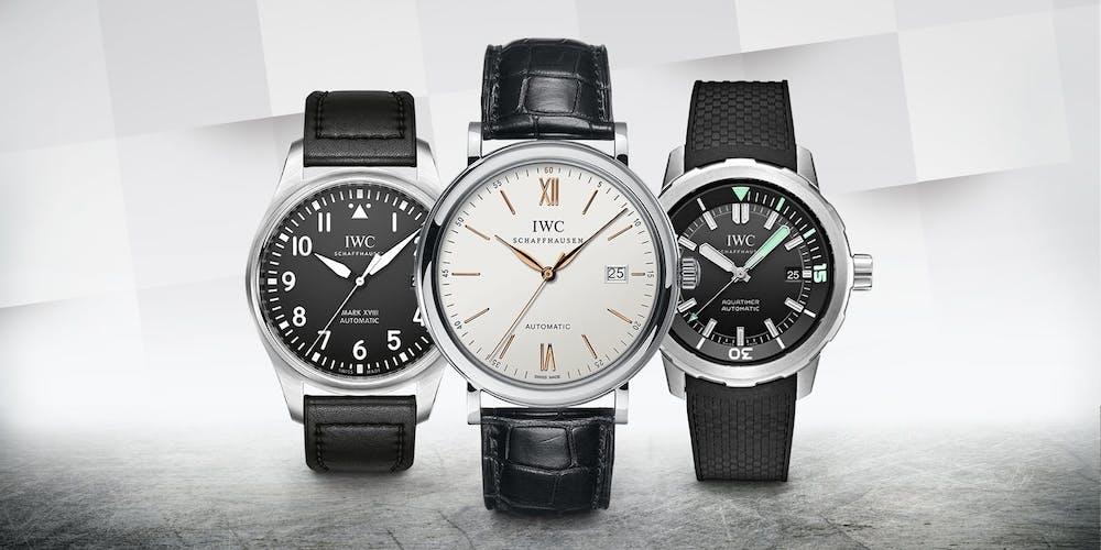 Drei erschwingliche IWC Uhren mit verschiedener Geschichte