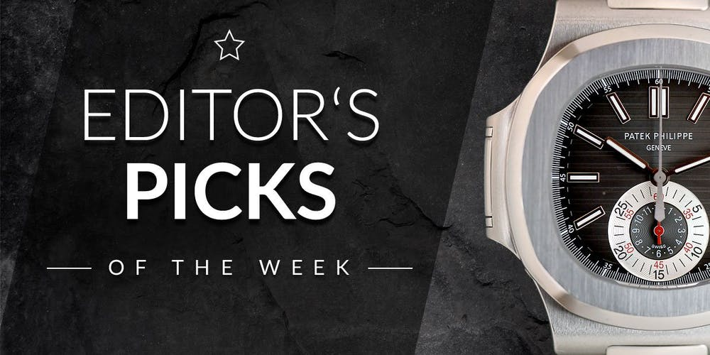 Editor's Picks of the Week – Omega, Zenith & Patek Philippe