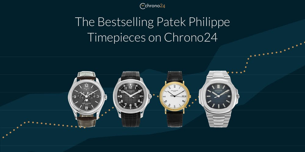 Discover which Patek Philippe models sell the best on Chrono24.