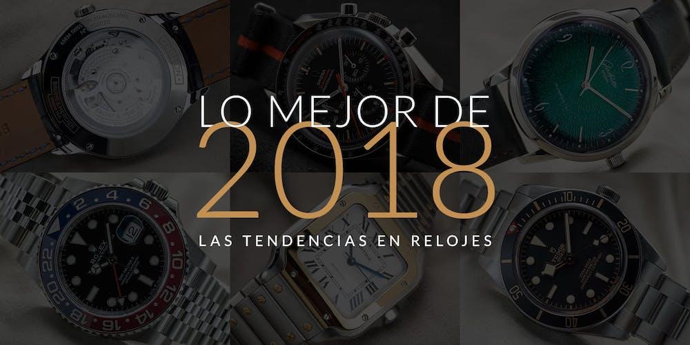 Retrospectiva anual: tendencias relojeras de 2018