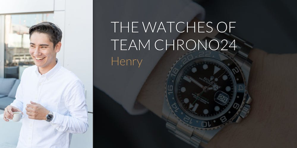The Watches of Team Chrono24: Henry
