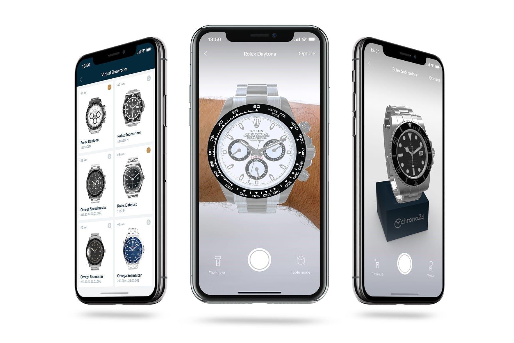 Virtual Showroom – das neue und revolutionäre Uhren-Shopping-Erlebnis