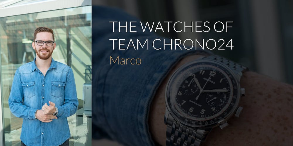 The Watches of Team Chrono24: Marco