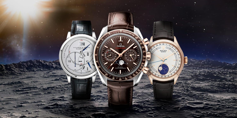 Il Sole, la Luna e le stelle: gli orologi con fasi lunari