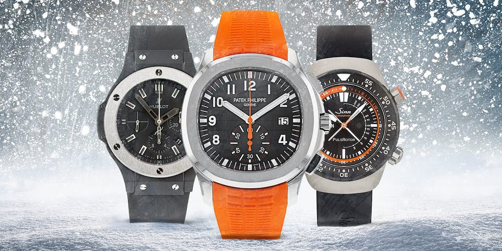 Downhill, Snowboarding, and Sledding: Watches for Winter Adventures