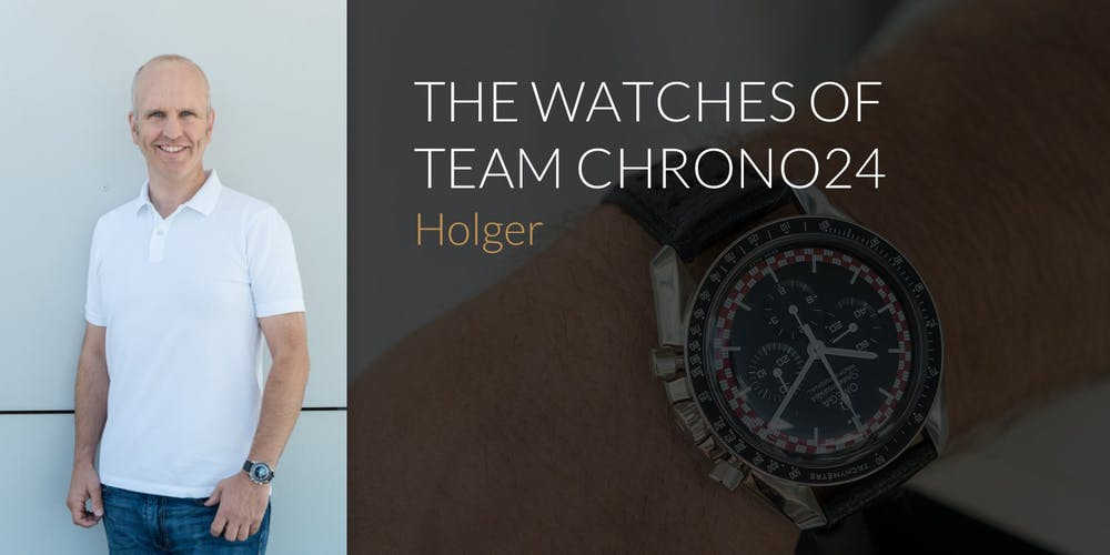 The Watches of Team Chrono24: Holger