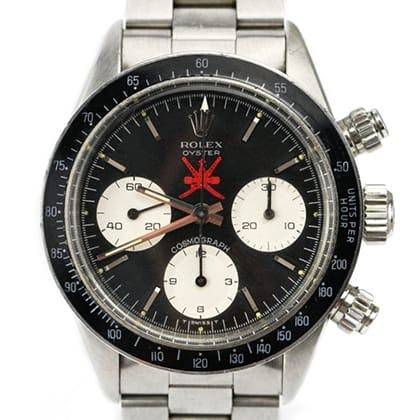 "Rolex Daytona Cosmograph reference 6263 ""Red Sultan"""