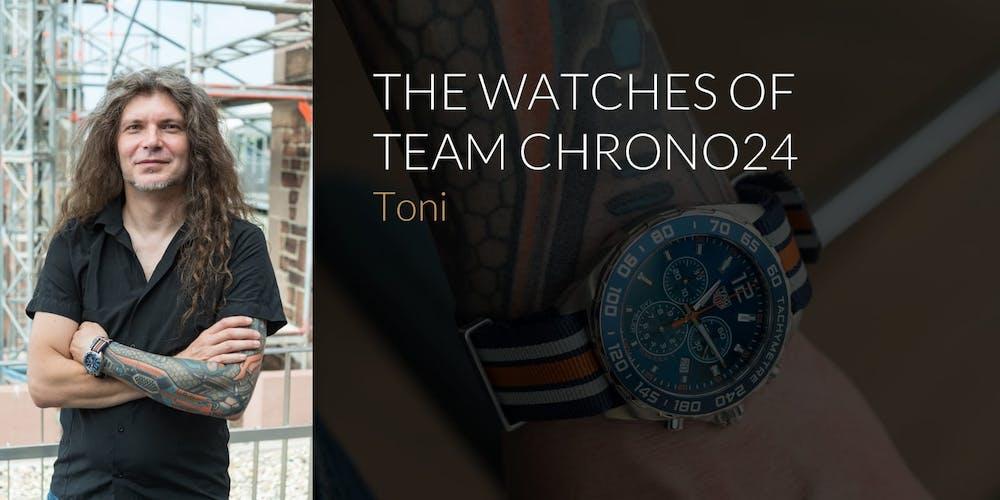 Watches of Team Chrono24: Tony