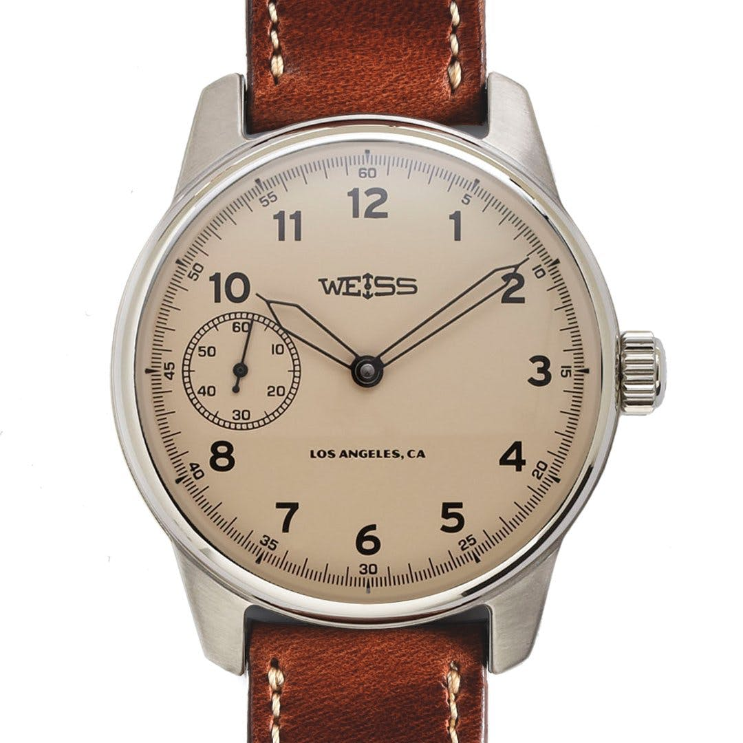 Weiss 42mm AMERICAN ISSUE FIELD WATCH CAL 1003