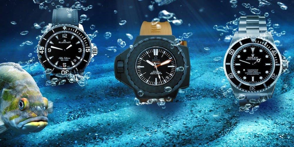 Relojes de buceo: de los relojes deportivos a los iconos certificados