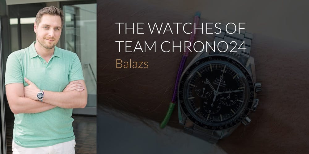 The Watches of Team Chrono24: Balazs