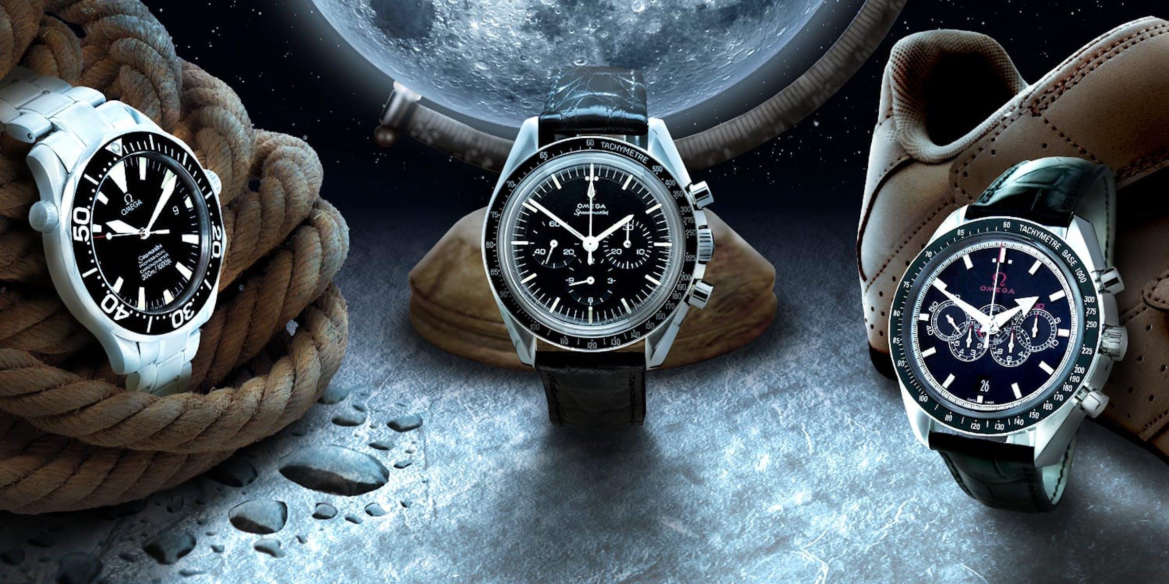 Über die Mondlandung hinaus: Vier der Omega-Partnerschaften und die dazugehörigen Uhren