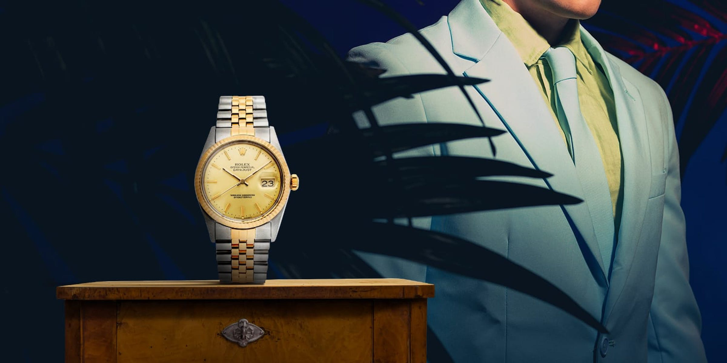 The 80s trend is back: two-tone watches. Are they too flashy or perfectly vintage?