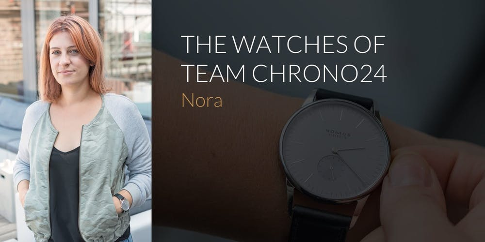 The Watches of Team Chrono24: Nora