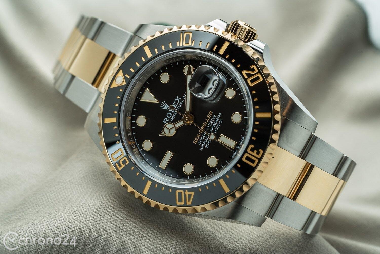 Rolex Sea Dweller Two Tone