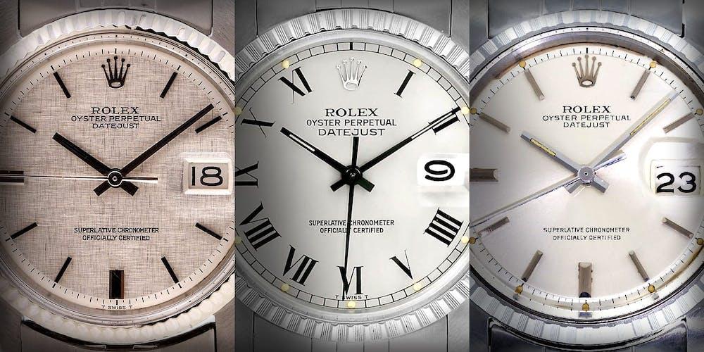 The Most Extraordinary Rolex Datejust Dials