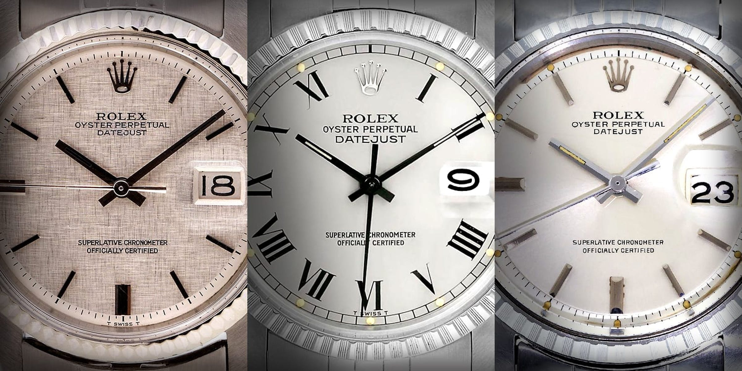 The Most Extraordinary Rolex Datejust Dials