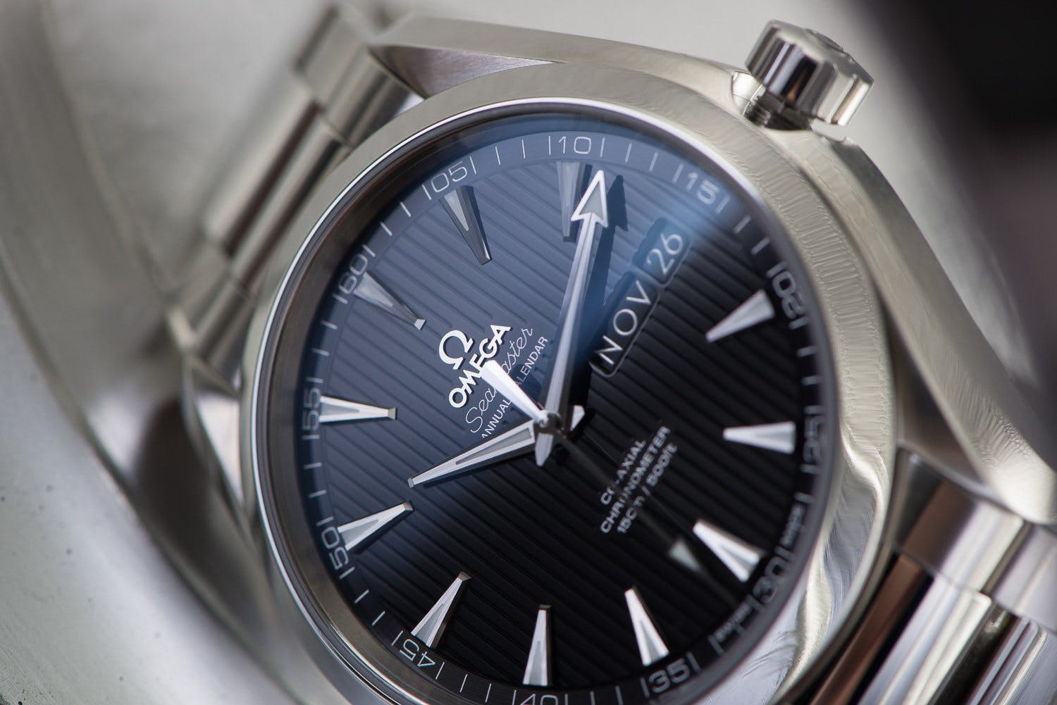 Omega watch with a co-axial escapement