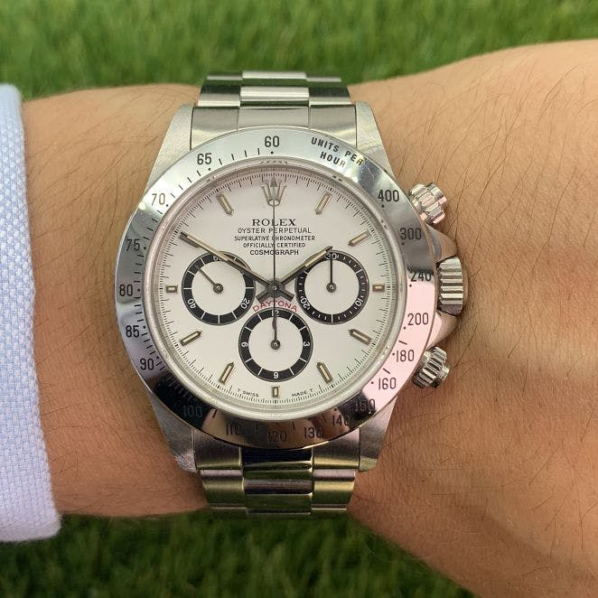 Rolex Daytona inverted 6
