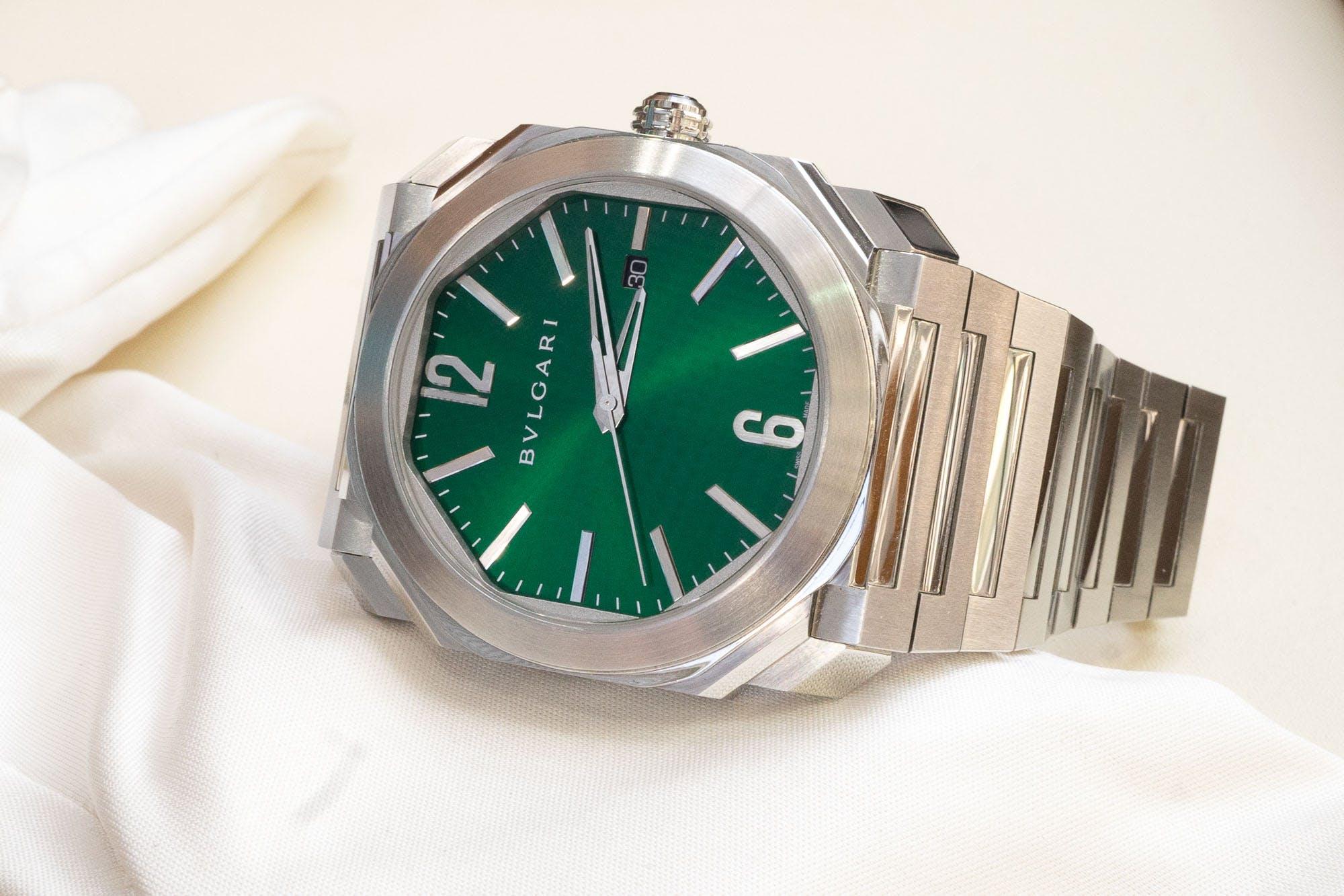 Bulgari Octo Green Dial