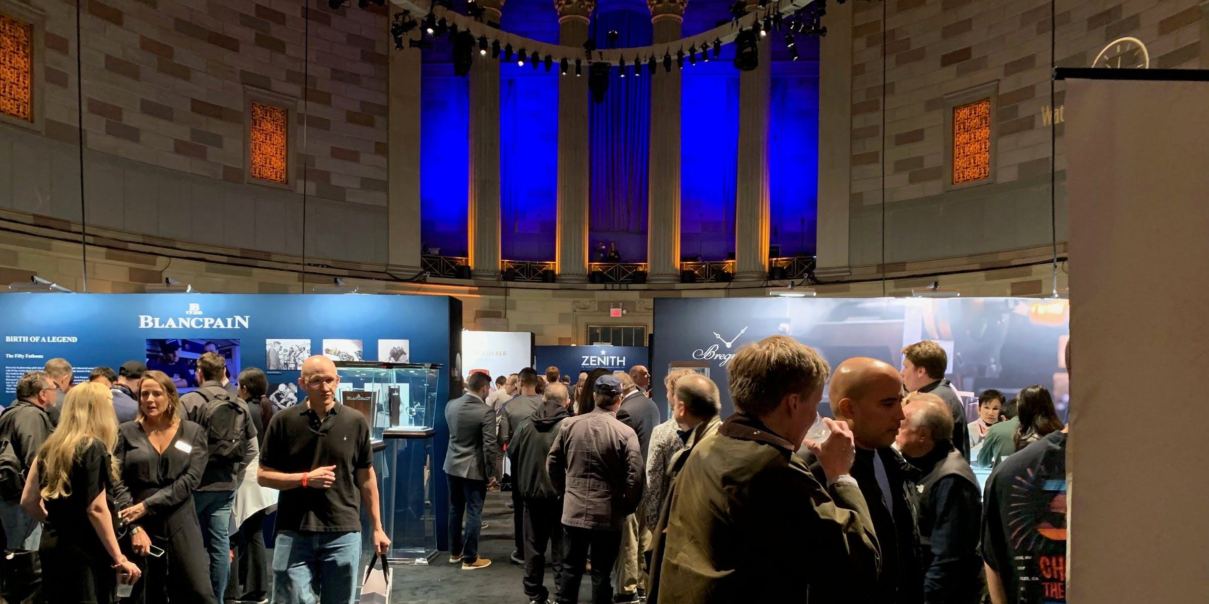 One City, Two Watch Events: Windup and WatchTime in New York