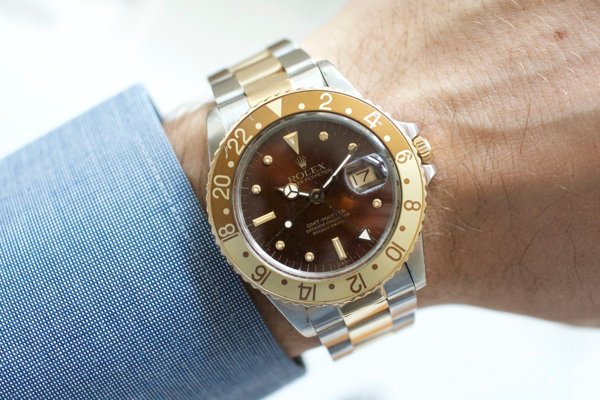 Rolex GMT-Master Root Beer