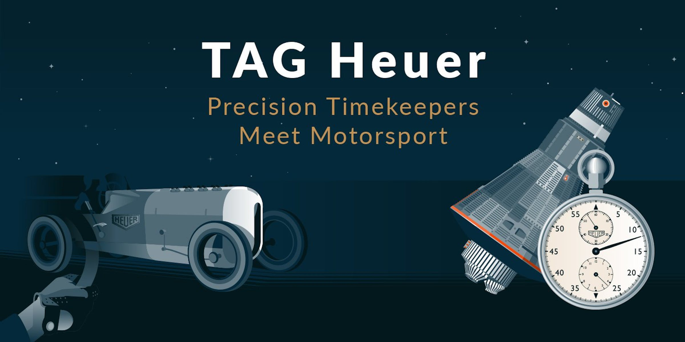 TAG Heuer: Precision Timekeepers Meet Motorsport