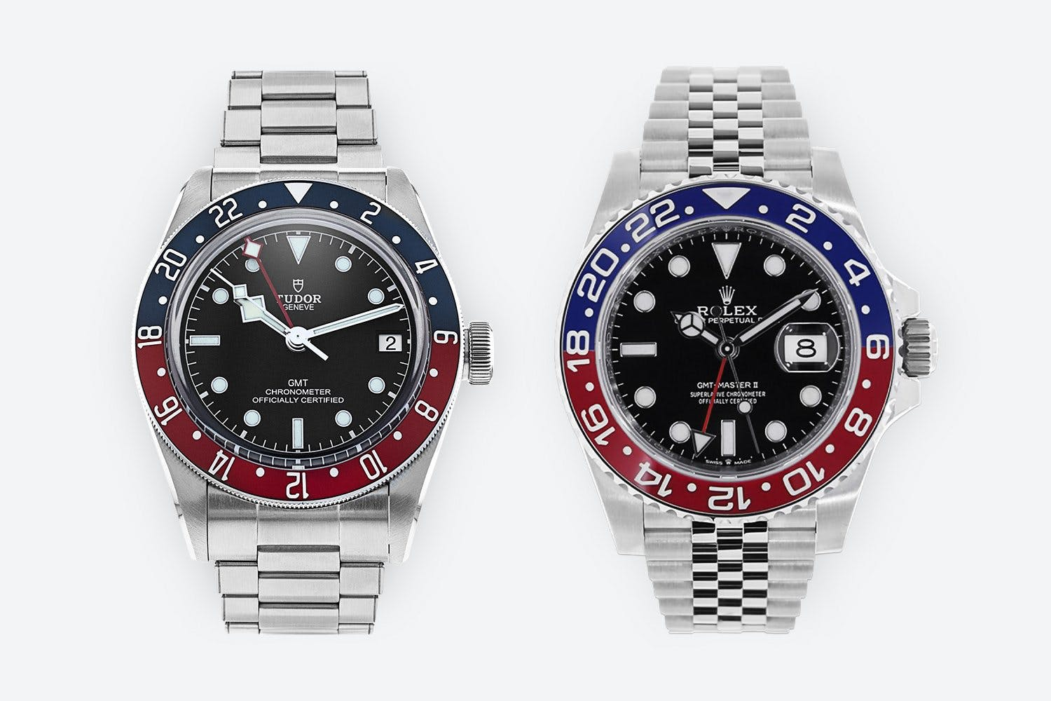 Rolex vs Tudor GMT