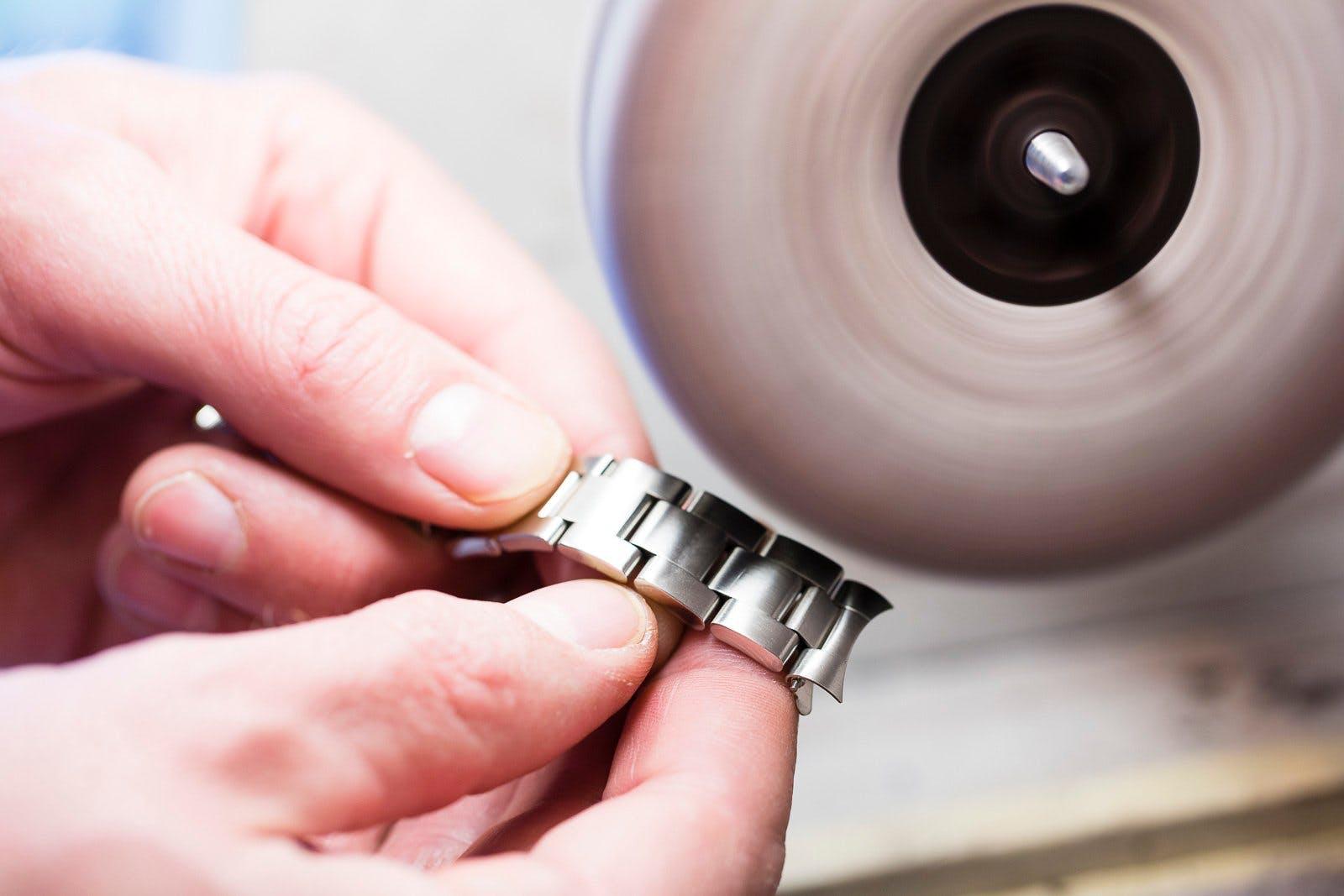 Rolex Revision Reinigung
