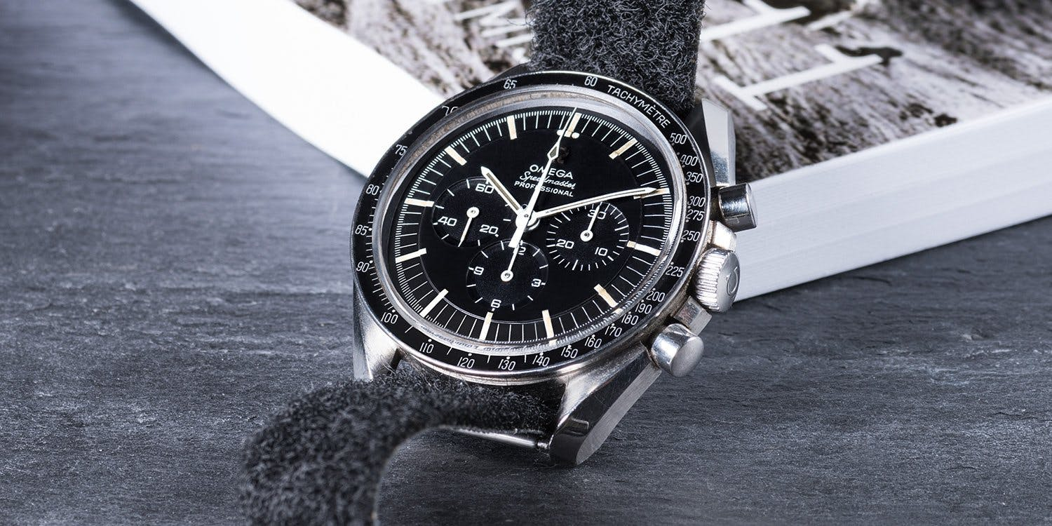 Iconic look and an amazing history. The Speedmaster Professional is a true watch legend.