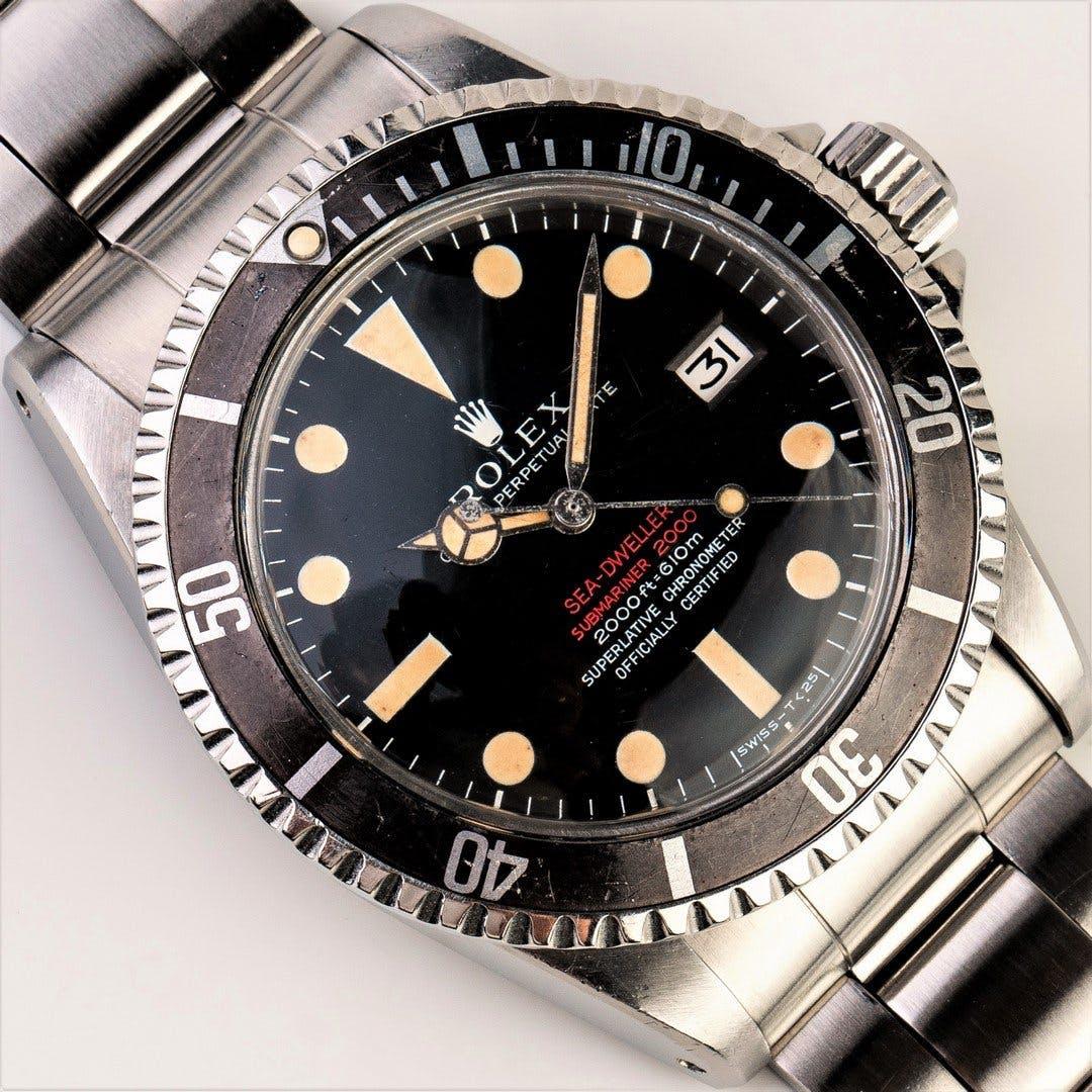 Rolex Sea-Dweller ref. 1665, 1967