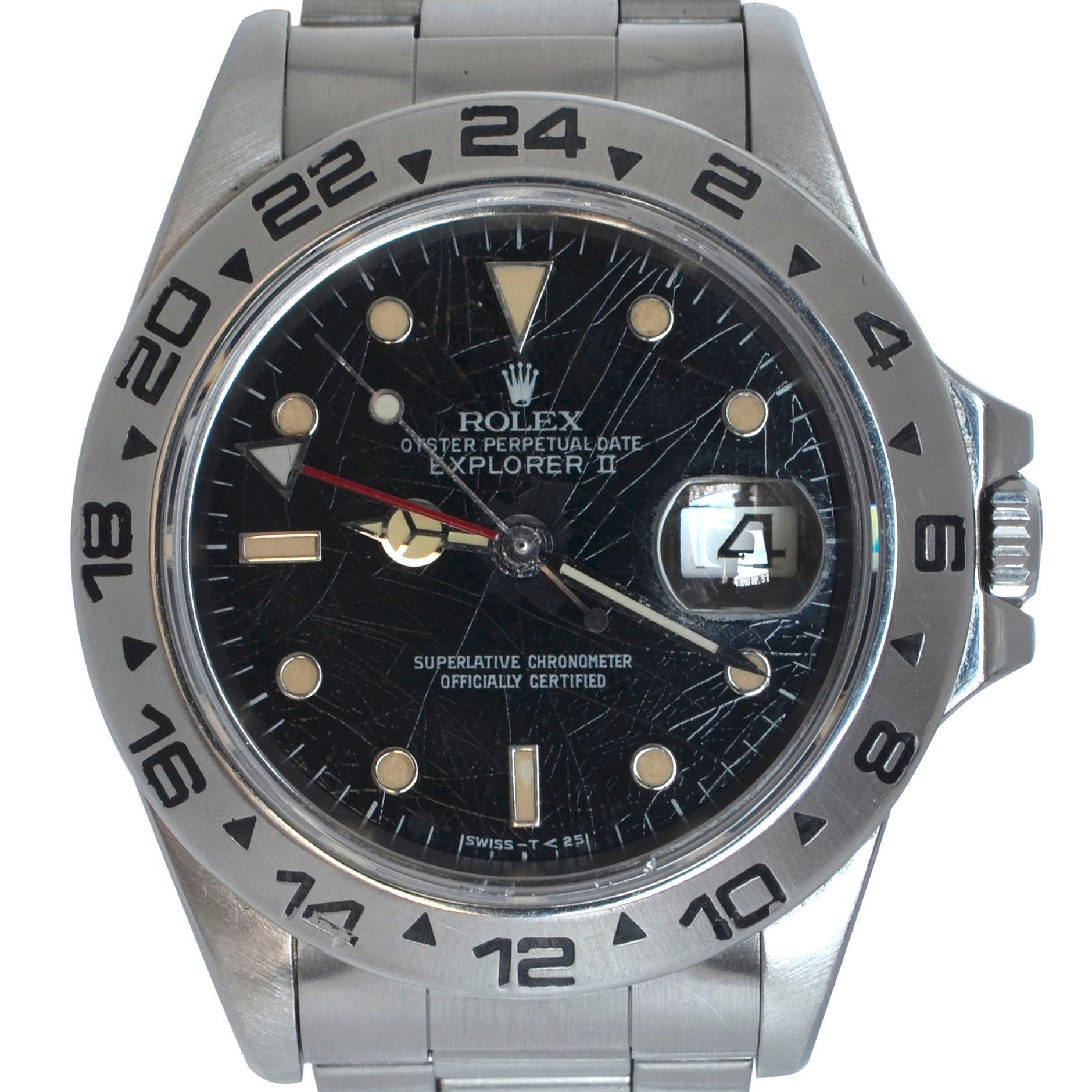 Rolex Explorer II 16550 with a spider dial