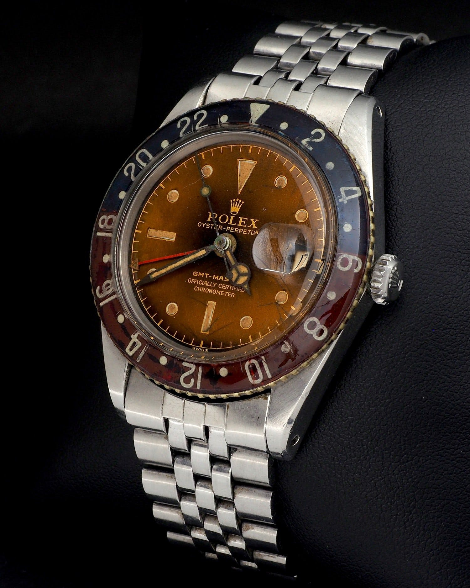 Rolex GMT-Master 6542 with a tropical dial
