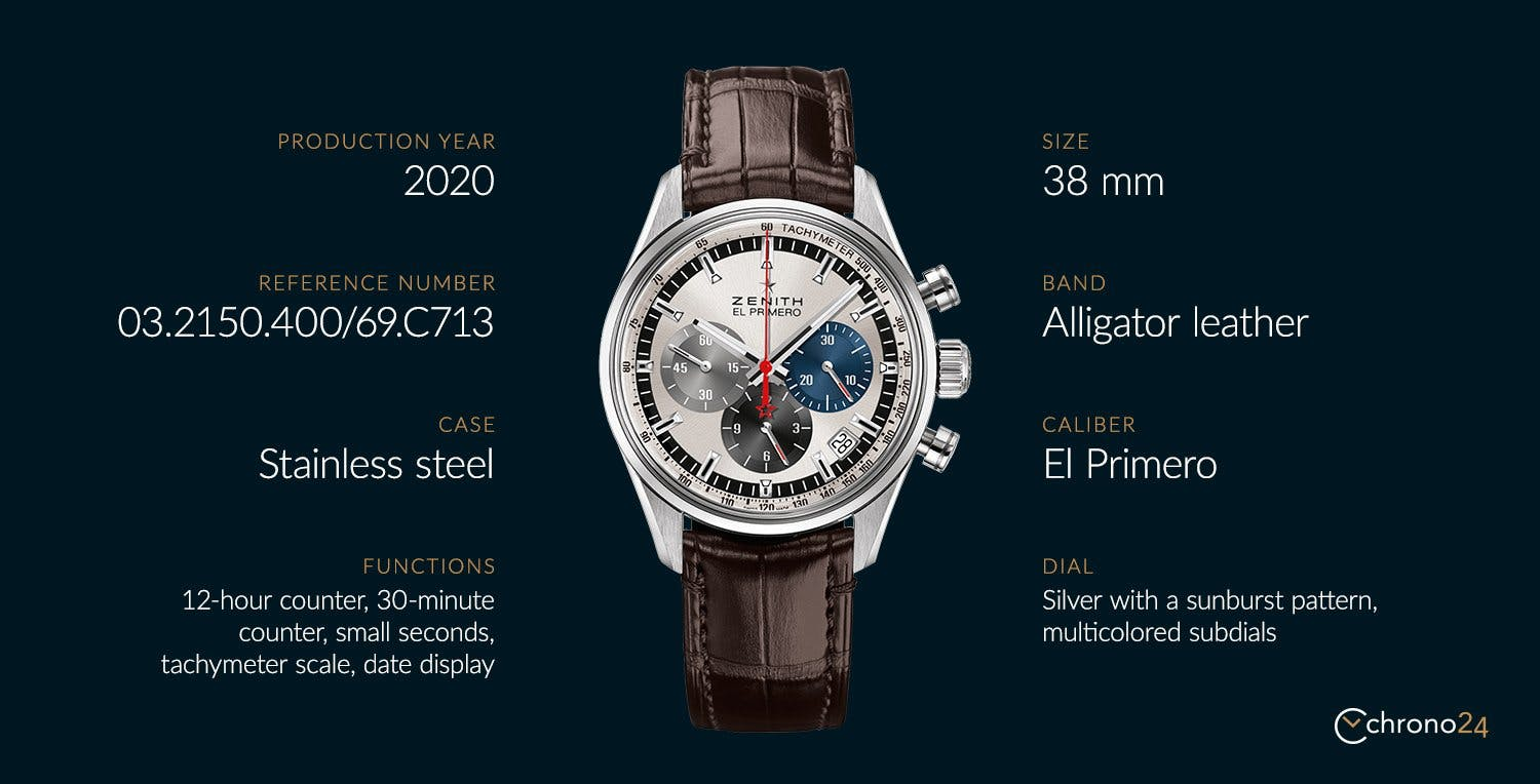 An overview of the Chronomaster El Primero ref. 03.2150.400/69.C713