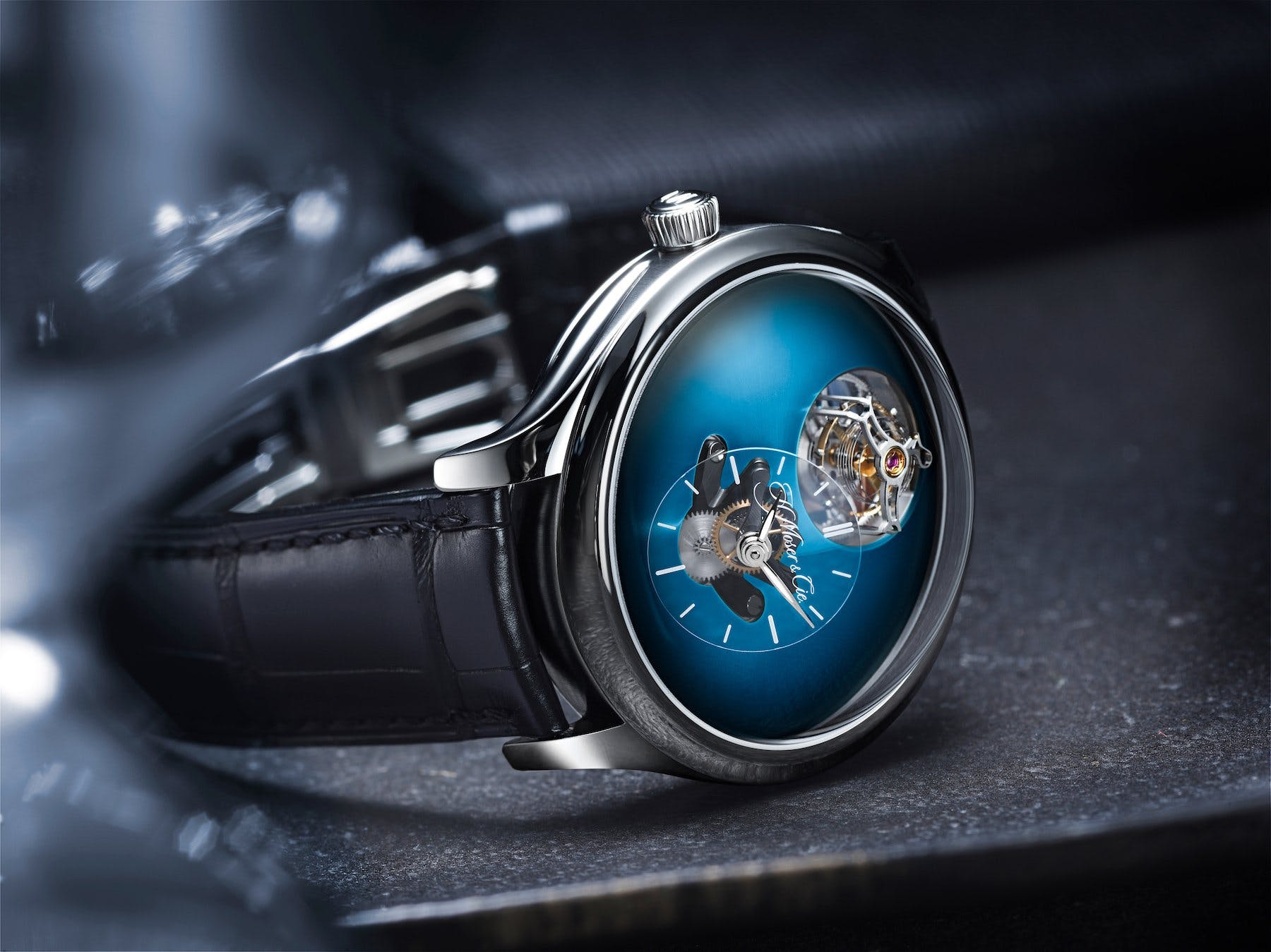 Endeavour Cylindrical Tourbillon, Image: H.Moser & Cie.