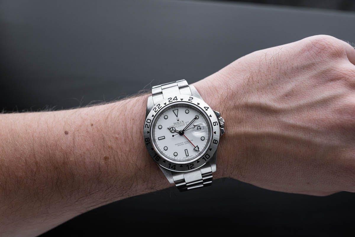 Vintage Rolex Explorer, Image:Watchvice