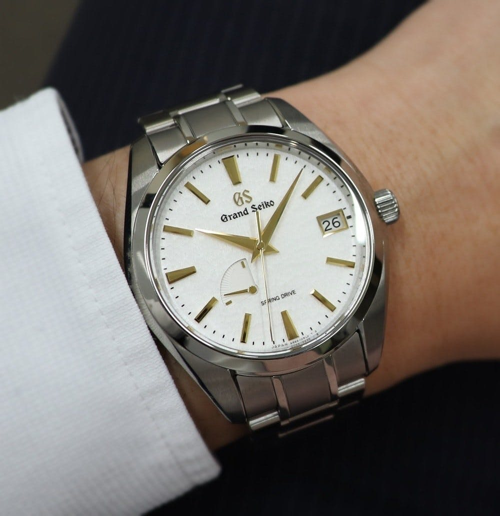 "Grand Seiko SBGA259 ""Golden Snowflake"""