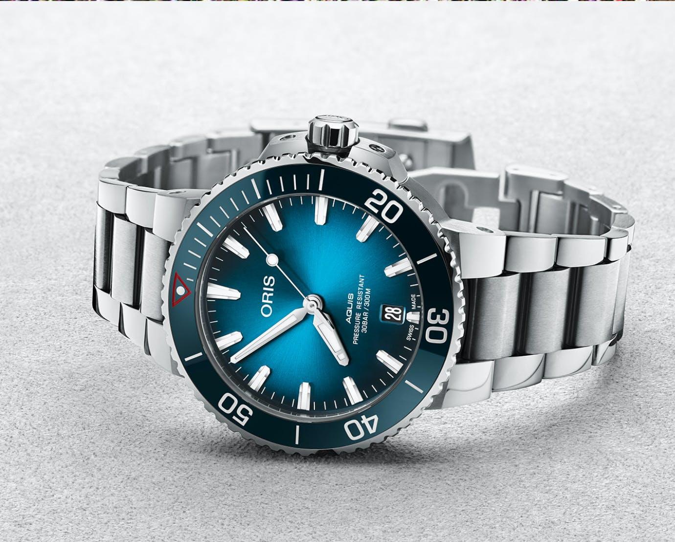 Oris Aquis Date, Clean Ocean Limited Edition