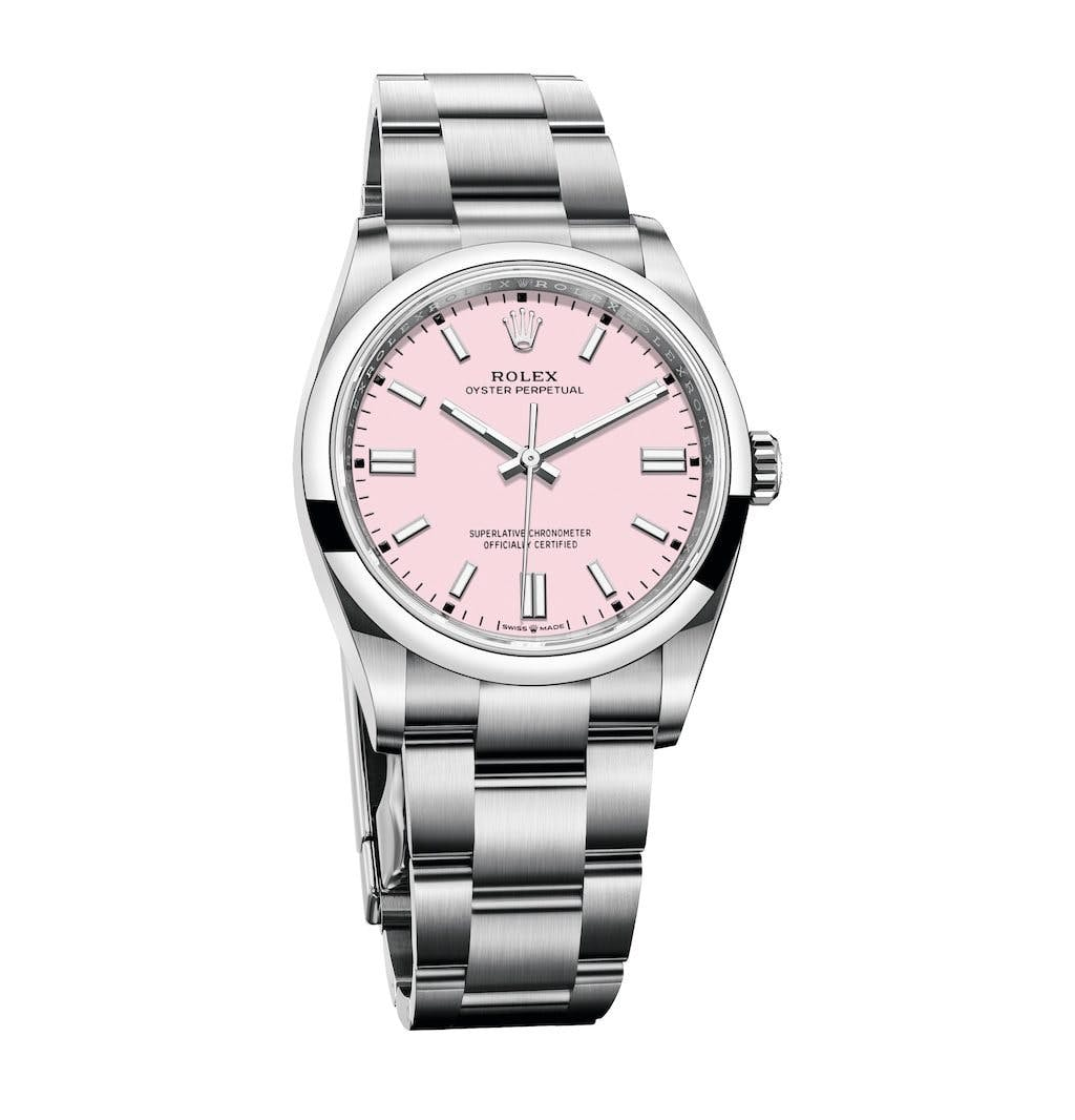 Oyster Perpetual 36 in Candy Pink, Bild: Rolex