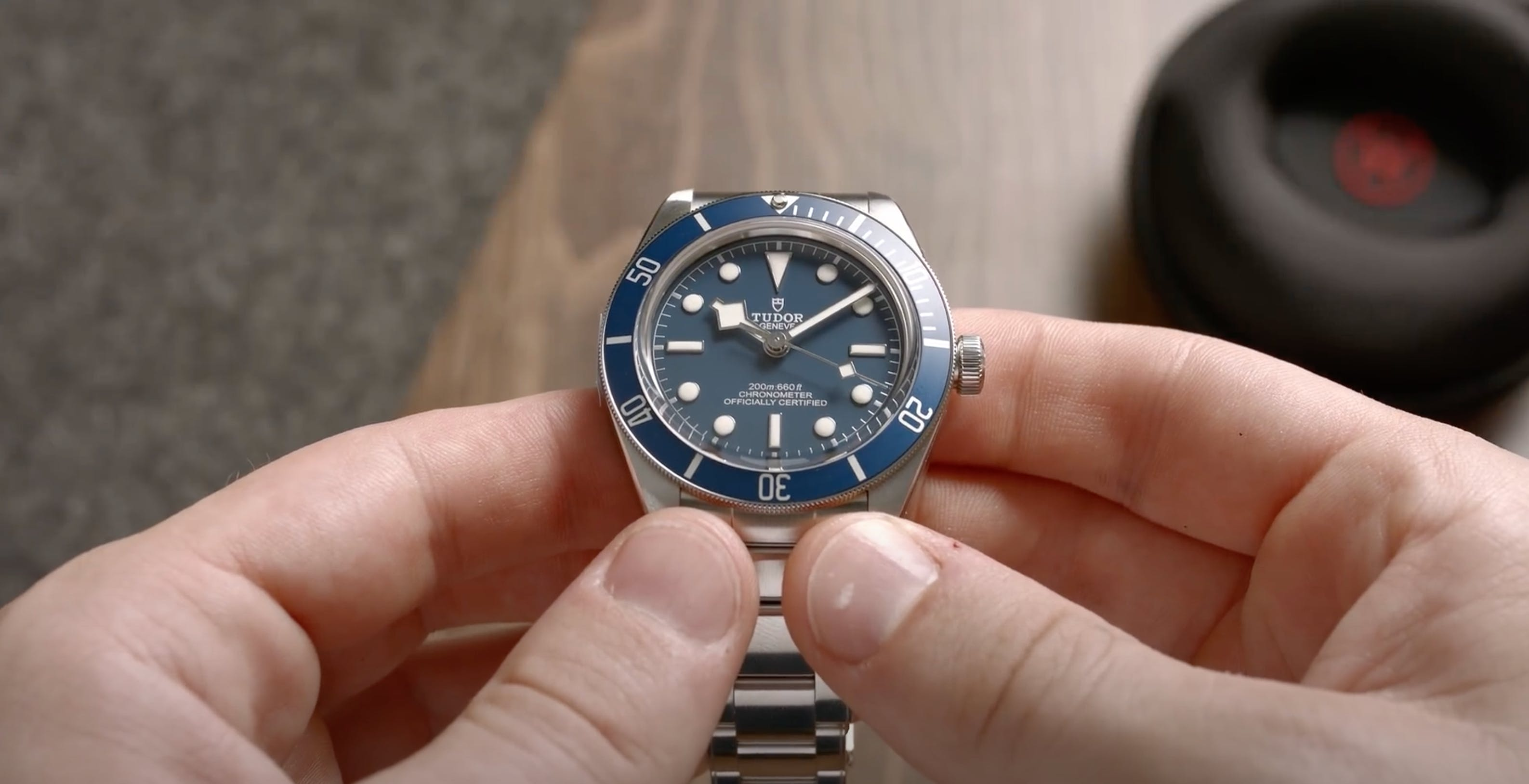 Tudor Black Bay 58 Navy, Image: WatchVice