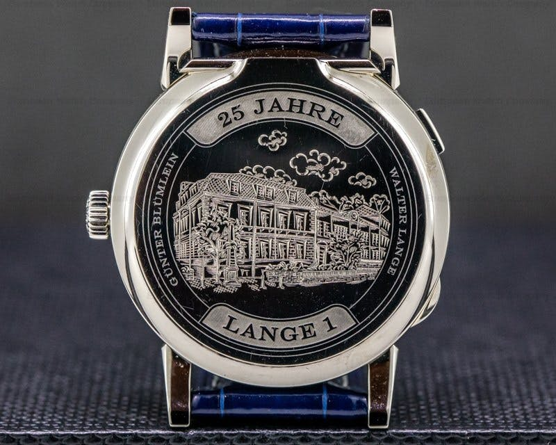 "Lange 1 ""25th Anniversary"" Ref. 191.066 Case Back"