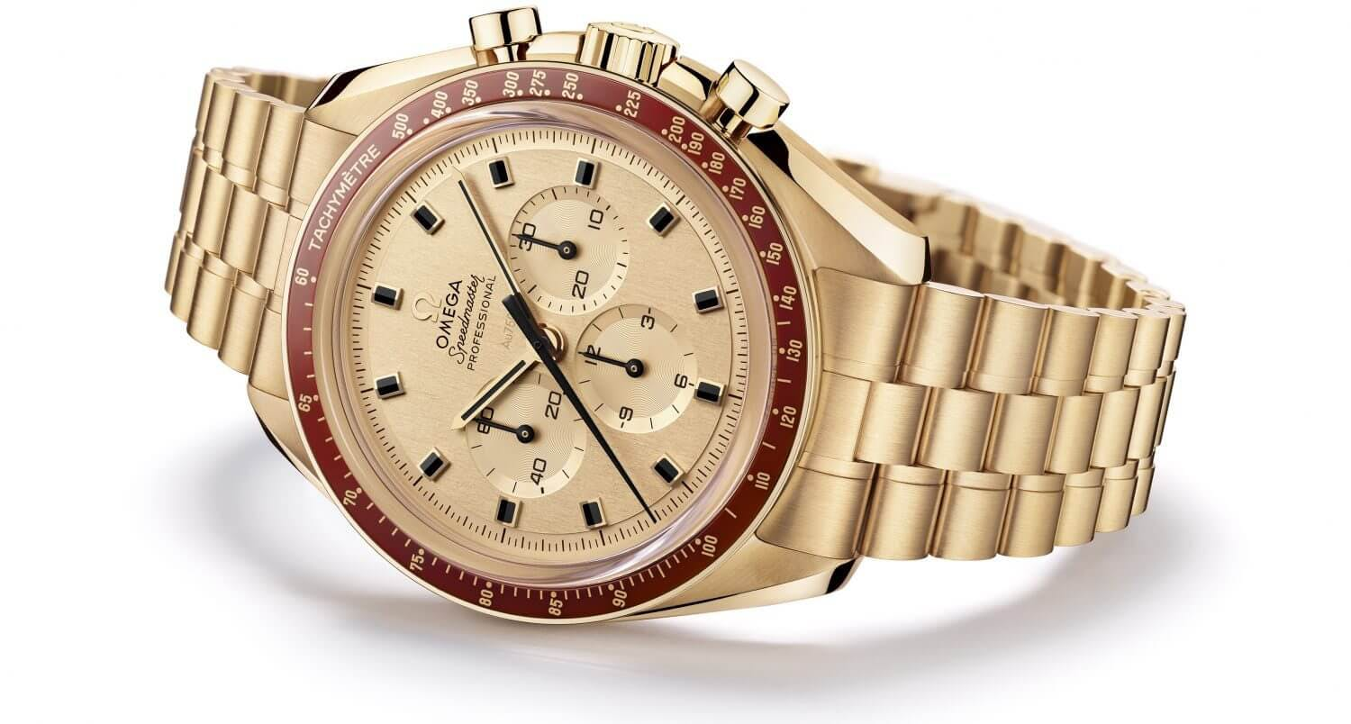 Omega Speedmaster Apollo 11 50th Anniversary Moonshine Gold Limited Edition
