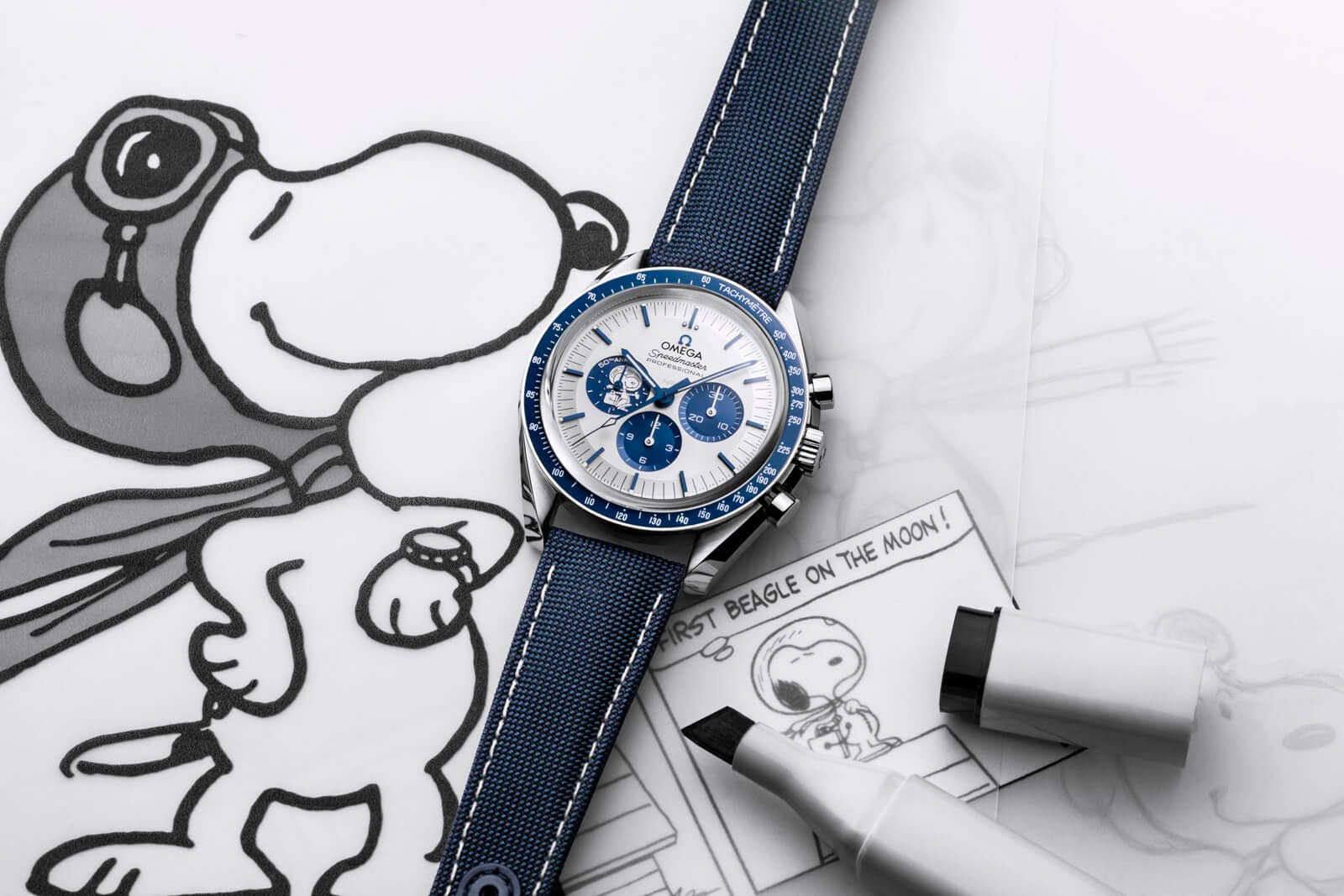 The Omega Speedmaster Silver Snoopy Award 50th Anniversary