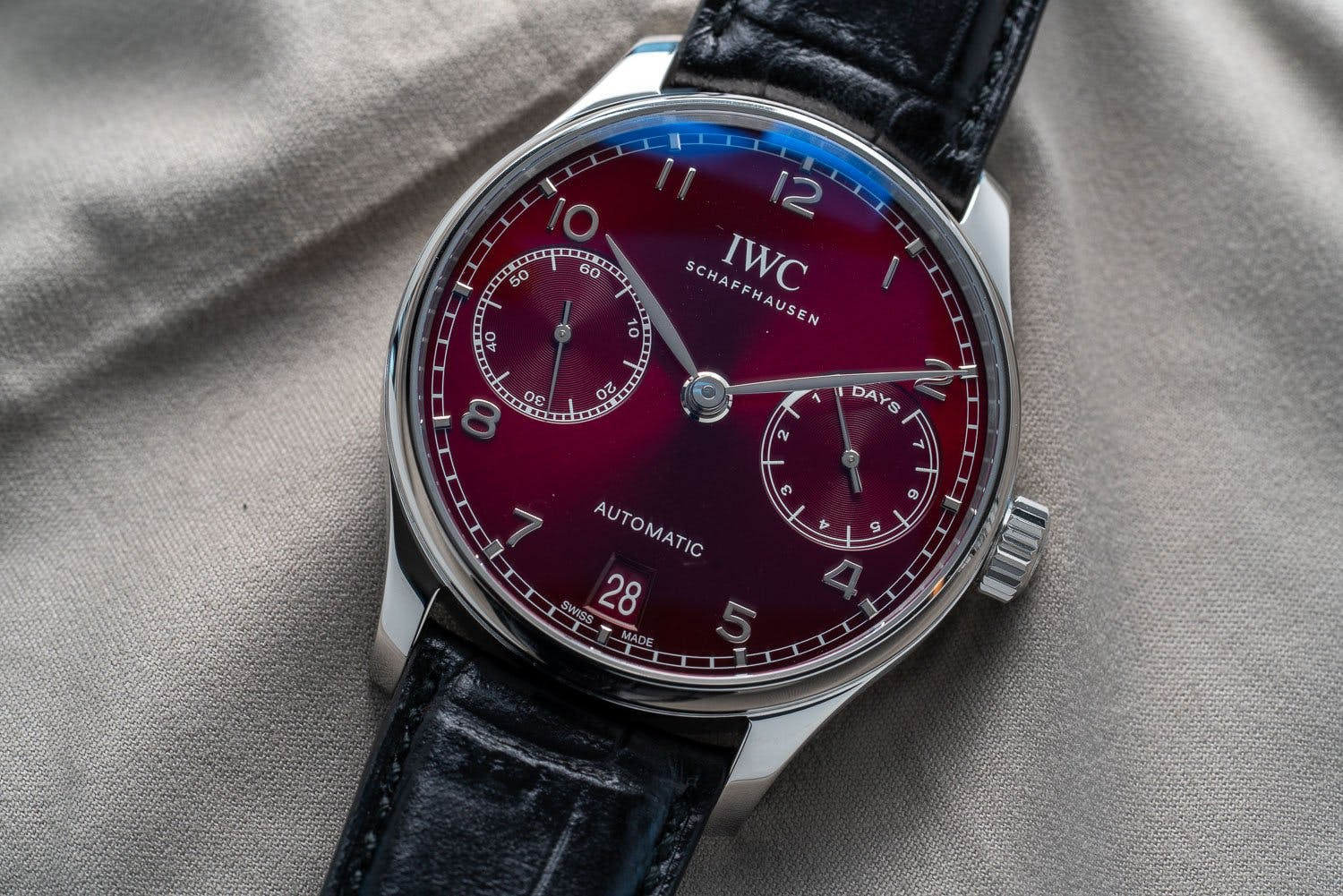 IWC Portugieser Automatic with two subdials, Ref. IW500714, Image: Bert Buijsrogge