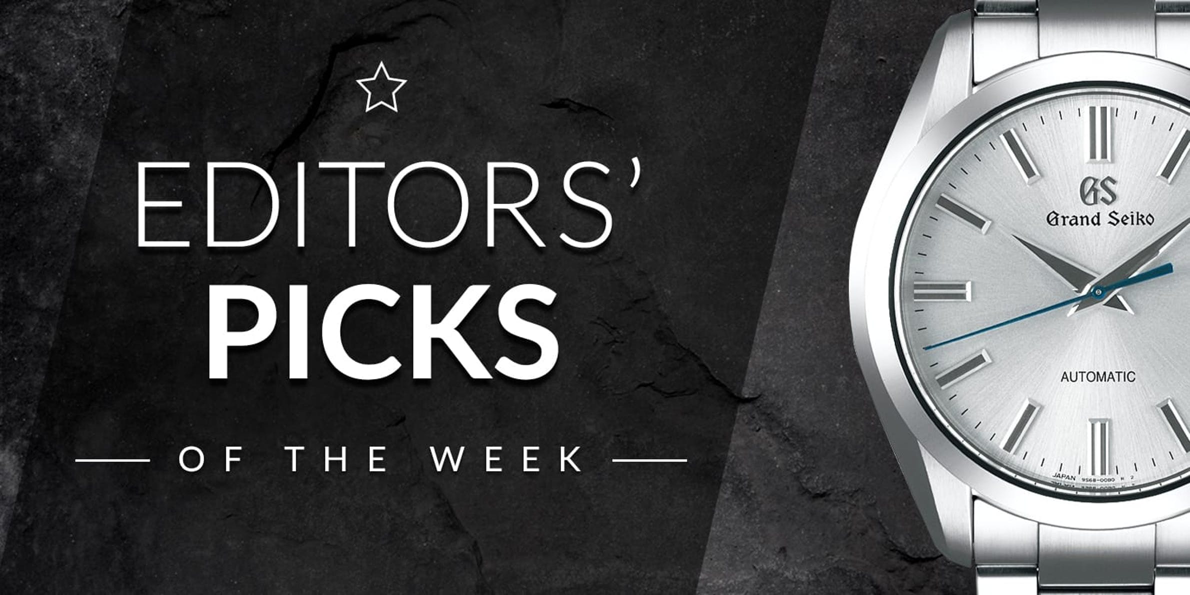 Editors' Picks of the Week: TAG Heuer, Hamilton, and Grand Seiko