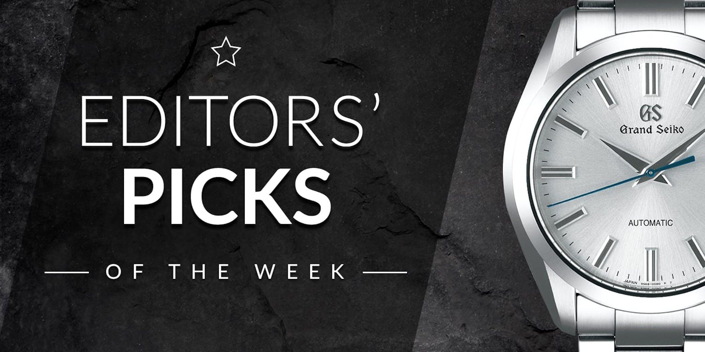 Editors' Picks der Woche: TAG Heuer, Hamilton und Grand Seiko