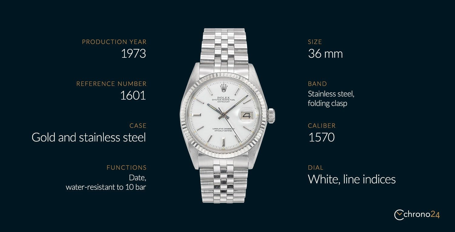 The Rolex Datejust Ref. 1601